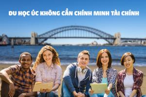 Du học Úc không cần chứng minh tài chính với 3 bước đơn giản